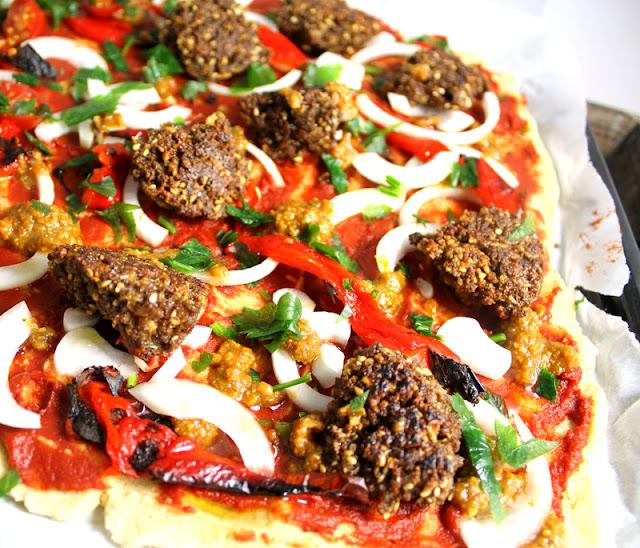 Oppskrift Vegansk Pizza Vegetarpizza Hjemmelagde Veganske Kjøttboller Tvp Soyaprotein