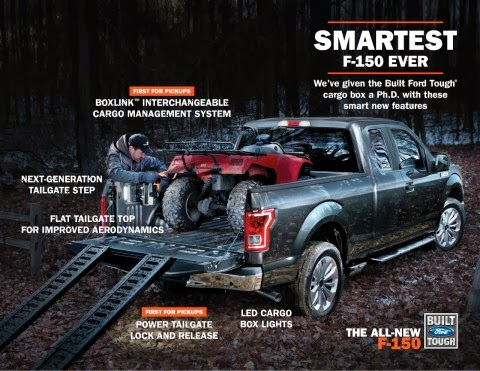 All-New Ford F-150 Features Takes Driver Experience to New Level