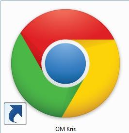 OM Kris - 3 Cara buat shortcut link web dengan mudah & Cepat