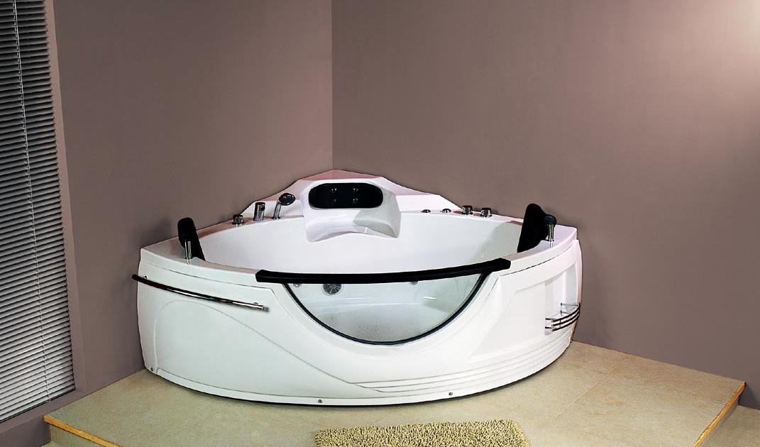 Vasca idromassaggio con parete in vetro box doccia cabine multifunzione e vasche per disabili - Cabine doccia per disabili ...