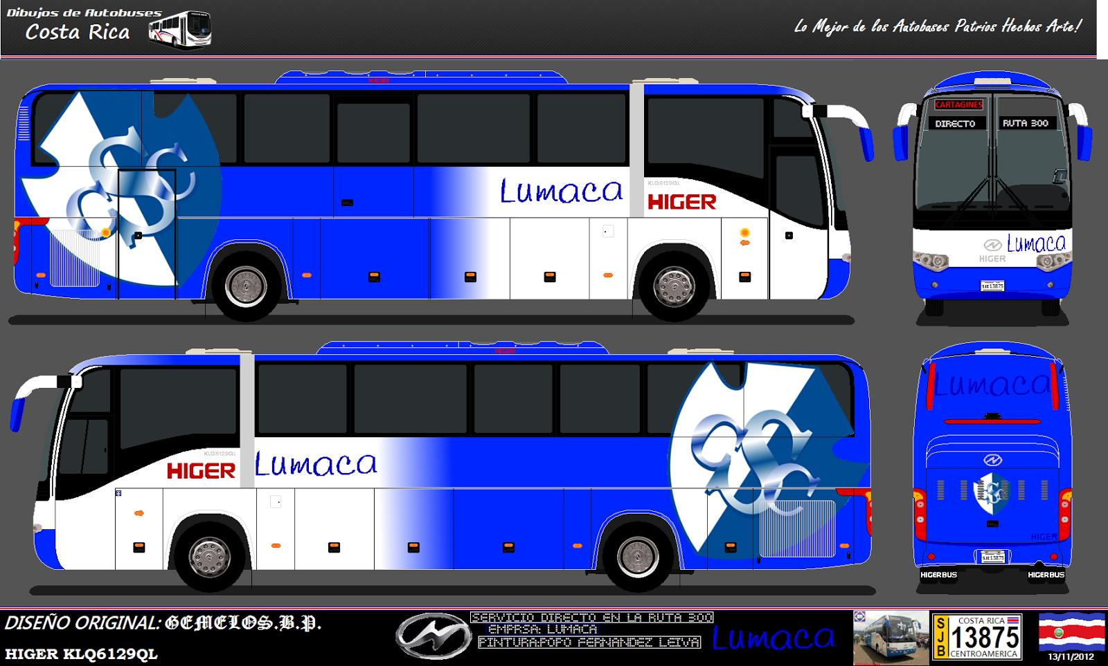 Dibujos de autobuses de costa rica dibujos buses cr 04 - Autobuses larga distancia ...