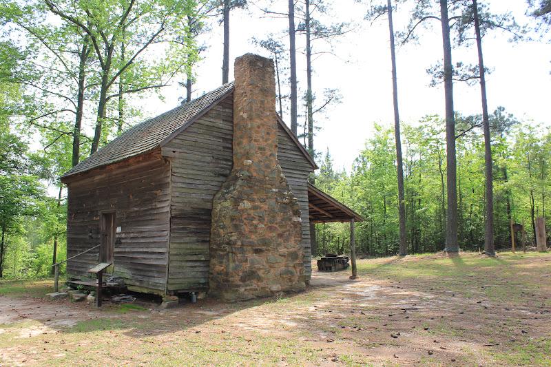 Where 39 S Trevor Log Cabin Life Callaway Plantation