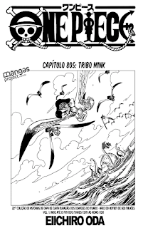 One Piece 805 Mangá - Português