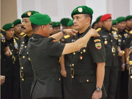 Kasad Jenderal TNI Mulyono Pimpin Sertijab Pangdam I/BB
