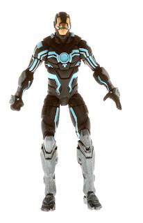 "Hasbro Marvel Universe Iron Man ""Black and White"" Armor"