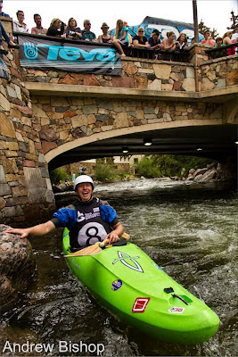 Smiles this big only come from one thing... Crushing! , chris baer, teva games, 8 ball rave vail co
