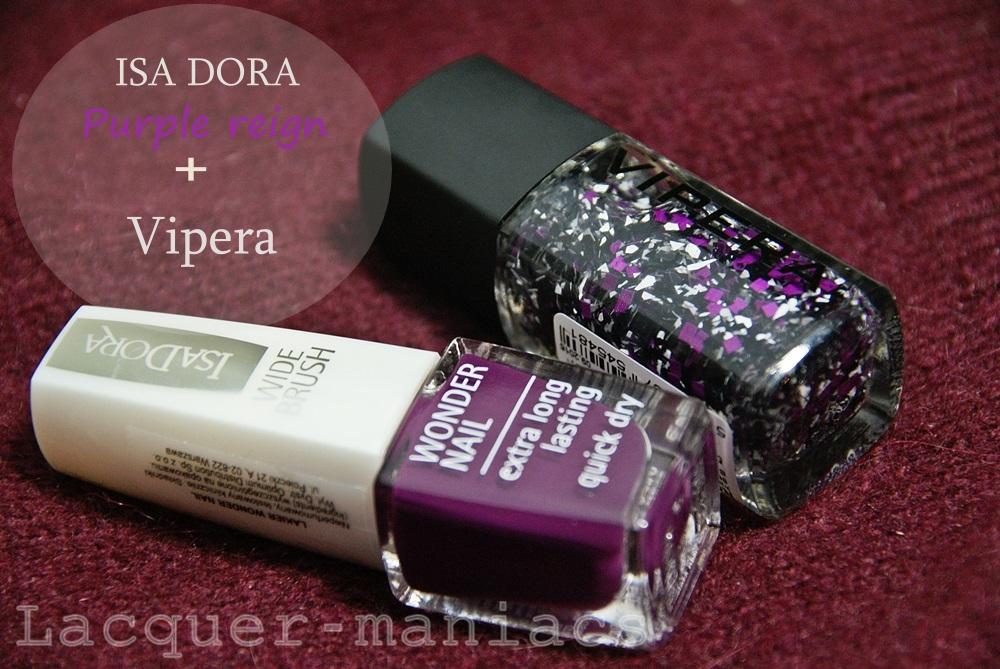 Isa Dora Purple Reign #772 & Vipera Roulette 48