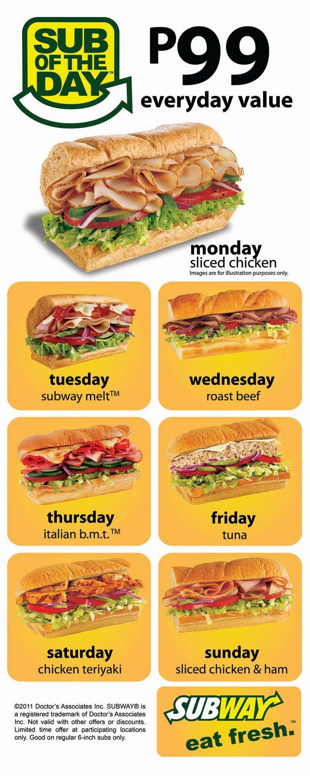 Photo By Subway Philippines