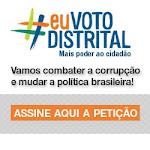 Eu Voto Distrital, E Você?