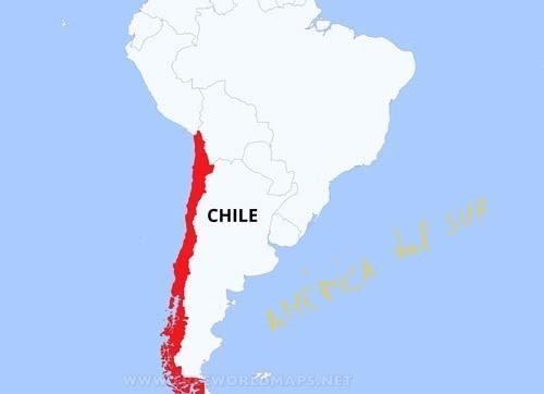 Ubicación de Chile