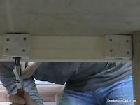 Mordaza de apriete fácil de montar y desmontar. www.enredandonogaraxe.com
