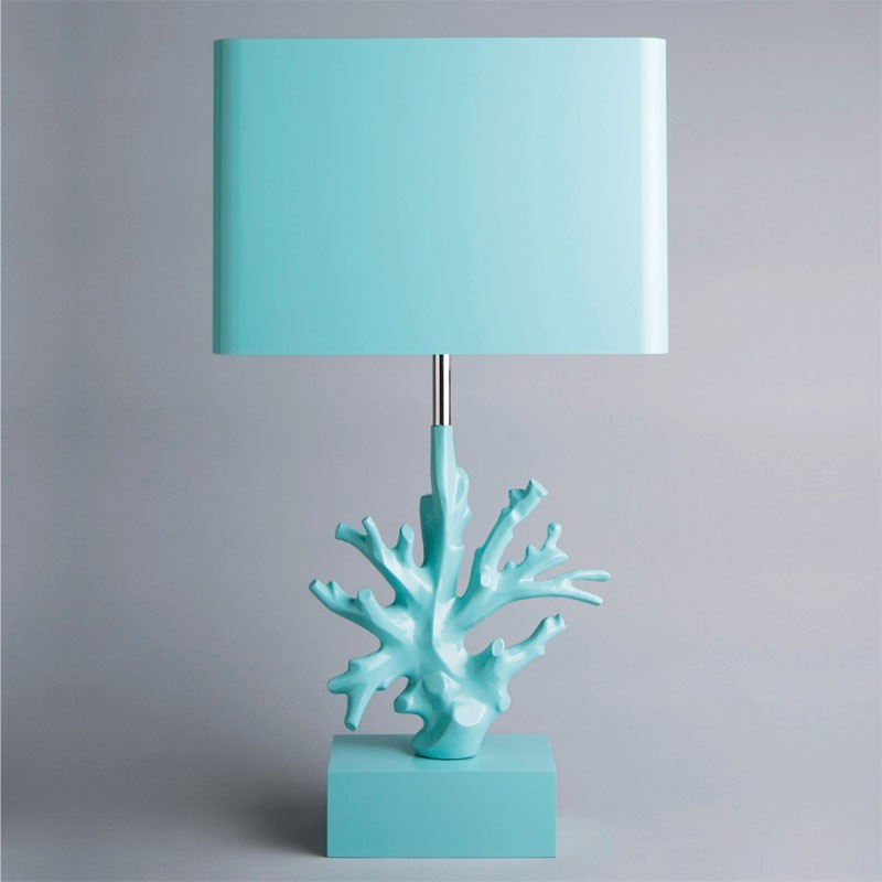 Breeze Me: Under the Sea Trend: Corail Table Lamp by Maison Charles