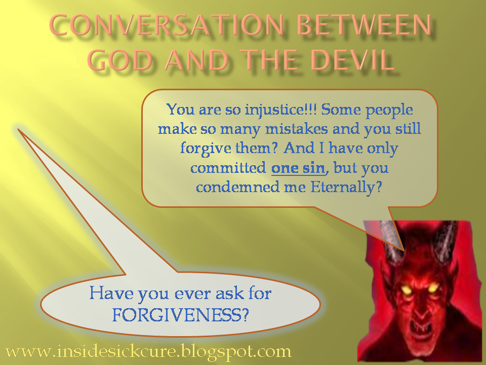 funny truth a conversation between god and the devil