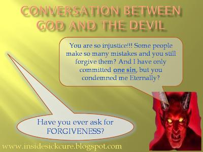 Conversation Of God and Devil Images