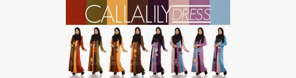 Callalilly Dress Menawan Sesuai Digayakan Oleh BF Serta Preggy Mom Dengan Material Berkualiti