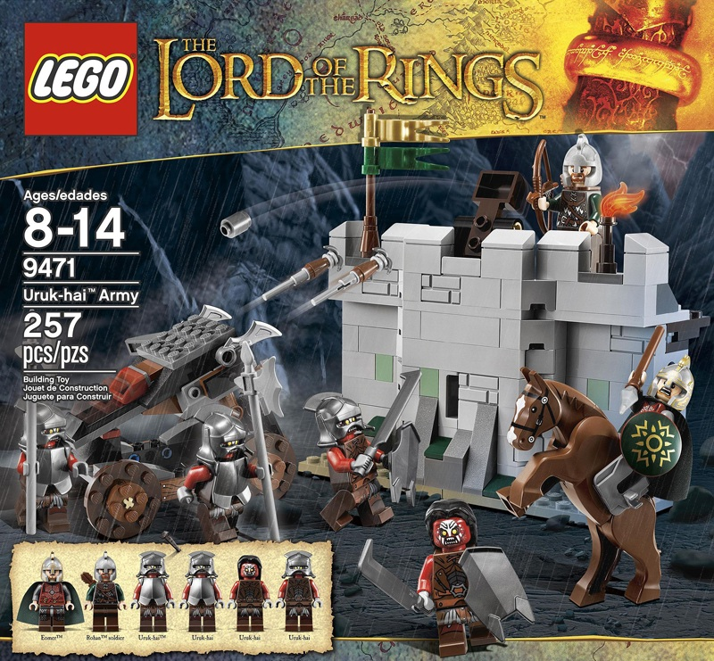 Lord of the Rings LEGO Urukhai