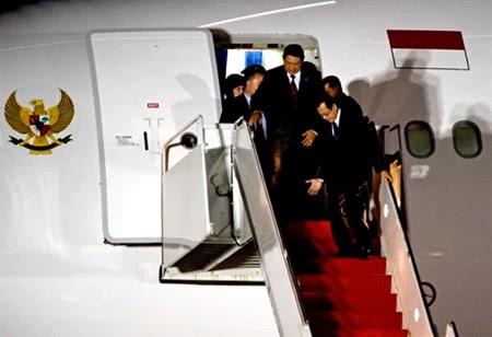 Pesawat Boeing Kepresidenan RI dipersiapkan Untuk Presiden Terpilih 2014