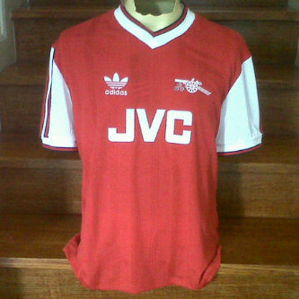 Jual Jersey Arsenal Sponsor JVC Retro
