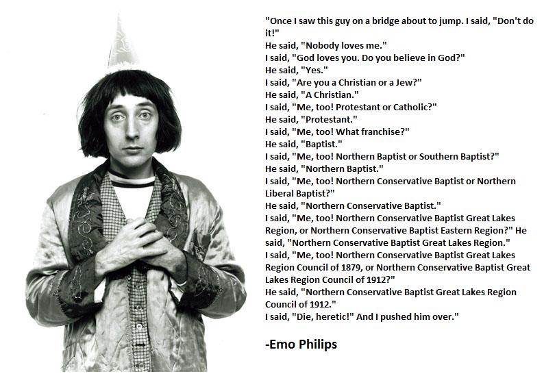Emo Philips Quotes Quotesgram