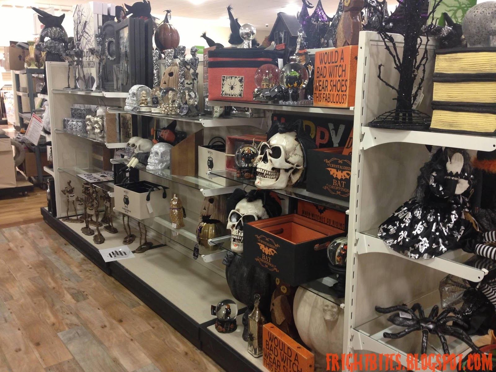 Here are my Halloween finds I discovered at my local HomeGoods store  enjoy. Fright Bites  Halloween 2015 Finds at HomeGoods Part 1