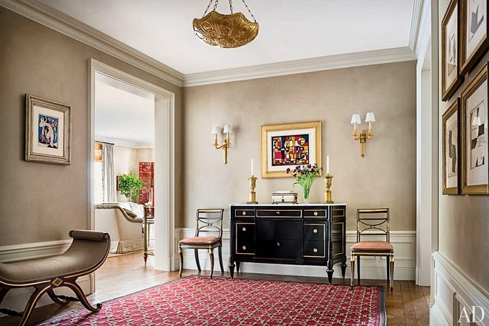 home tour an elegant new york apartment in the pierre elegant entryway brooklyn new york home outside design