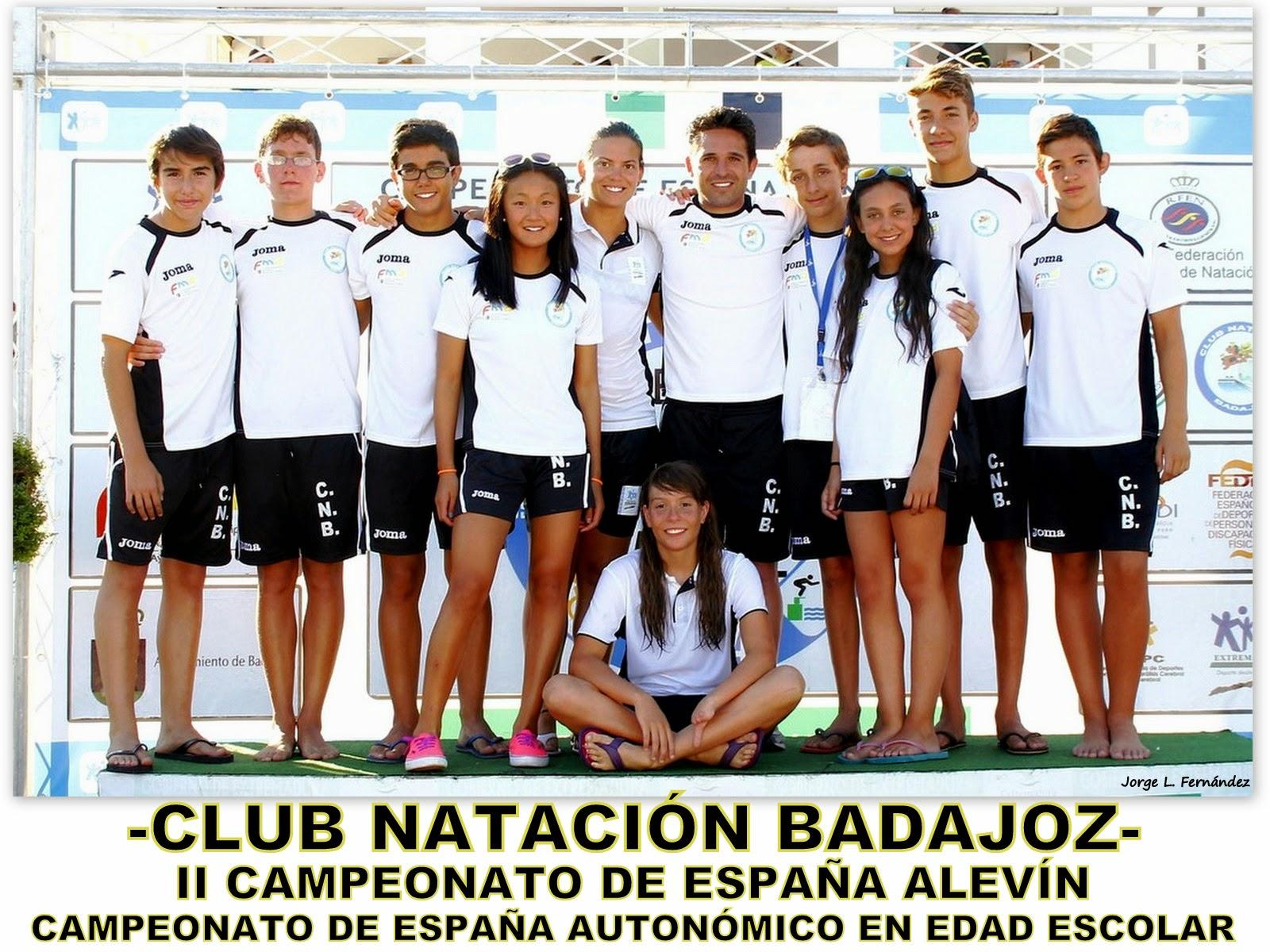 Cto. de España Alevín y Escolar (Badajoz 2014)