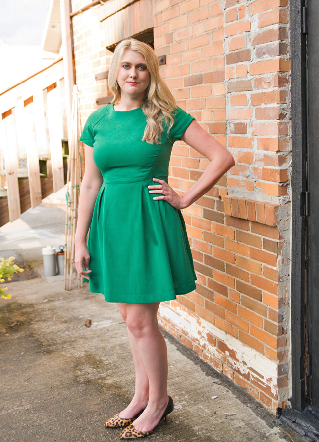 Fit and Flare Dress-The Lady Lawyer