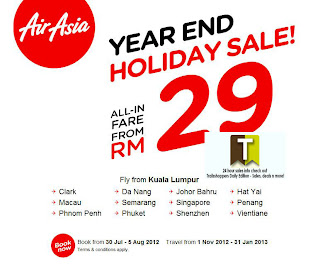 AirAsia YearEND Holiday Sale