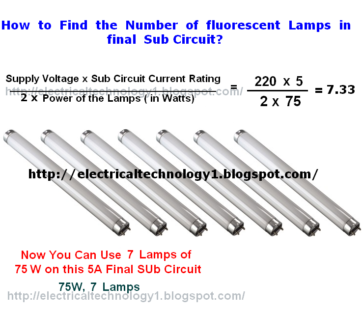 Electrical Technology: How To Find/Calculate The Number Of