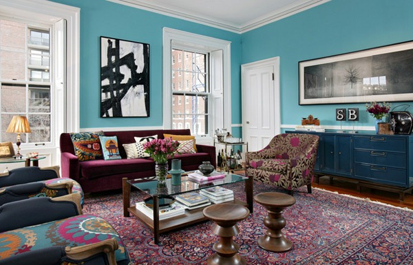 Skema Warna Mempesona untuk Ruang Tamu