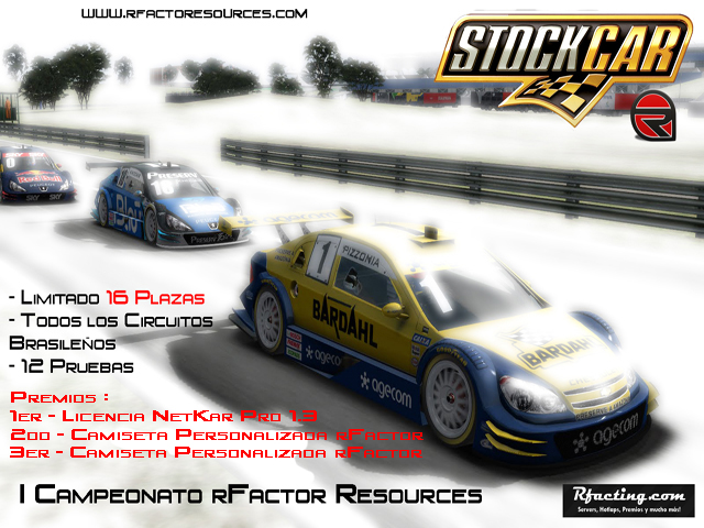 Campeonato rFactor Resources Stock Cars V8