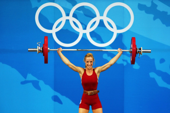 Olympic weightlifting vertical jump