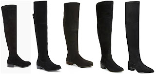 Forever 21 Over the Knee Faux Suede Boots $44.90  Sole Society Daegan OTK Suede Boot $139.95  Sole Society Andie Over the Knee Boot $139.95  Steve Madden Suede Over the Knee Boot $149.95  Ivanka Trump Livi Over the Knee Faux Suede Boots $179.00