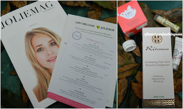 Jolie Box: October Overview