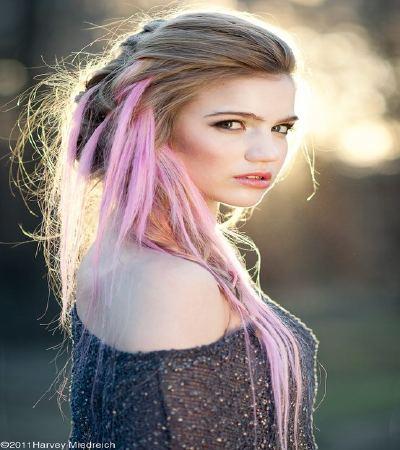 cute hairstyles long hair teenage