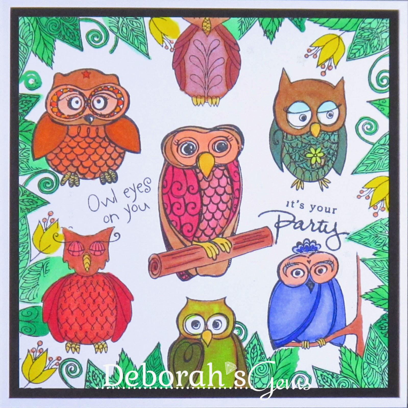 Owl Eyes on You - photo by Deborah Frings - Deborah's Gems