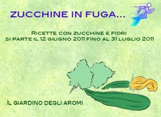Zucchine in fuga.....