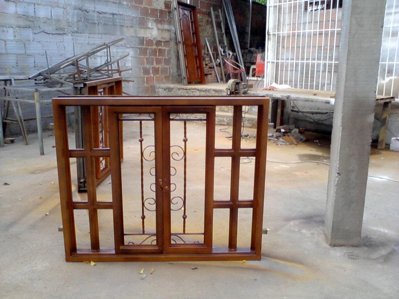 puertas metlicas tipo madera