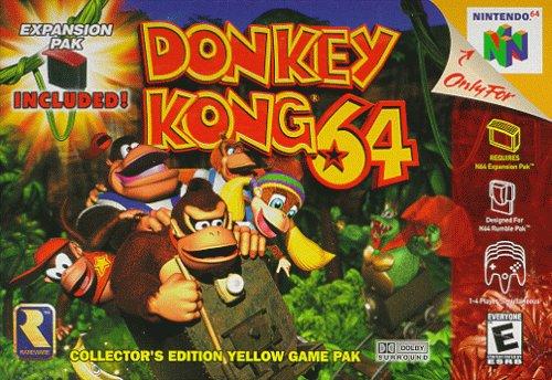 Por que Donkey Kong 64 necesitaba el Expansion Pak?