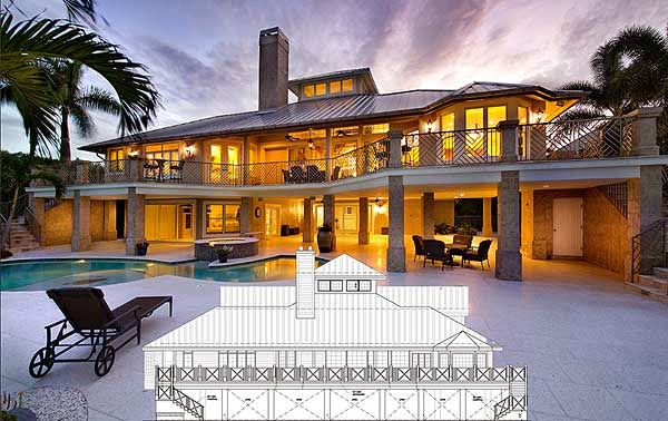 Ocean Dream House Plan