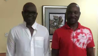 Fayose's Brother Describes Ibadan As Dead City, Asks If Oyo Still Has Governor (See Photos)