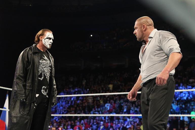 Sting Survivor Series 2014 Debut Raw Authority Team Cena