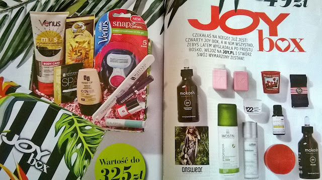 Sprzedaż wakacyjnego JOYboxa rusza już w poniedziałek !