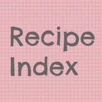 My Recipe List