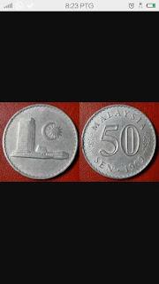 duit syiling 50 sen