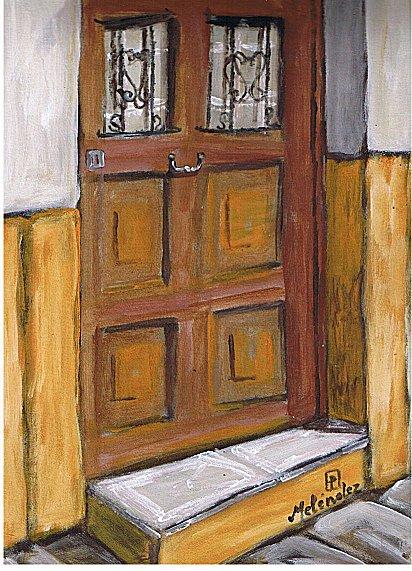 Puerta de madera 3-9-95