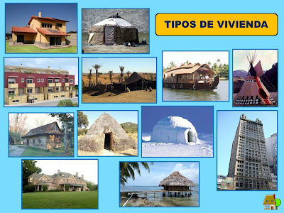Clase de 4 a os b ceip miguel hern ndez laguna de duero for Diferentes techos de casas