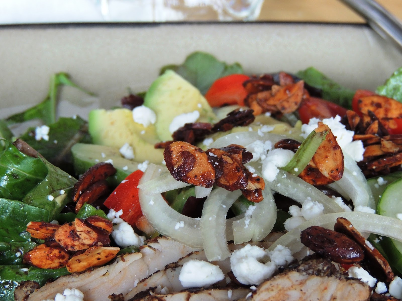 Leave a Happy Plate: Roasted Turkey Salad with Maple ...