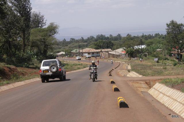 Barabara sehemu ya Mkuu Mjini