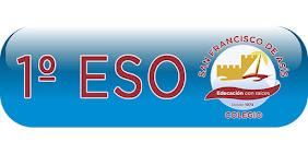 Bienvenidos al Blog de 1º de E.S.O.